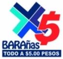 Logo Franquicia Barañas x5