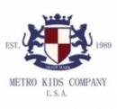 Logo Franquicia Metro Kids Company
