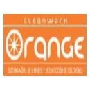 Logo Franquicia Cleanwork Orange