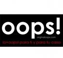 Logo Franquicia OOPS!, LO+OOPS! PARA TI Y PARA TU CASA